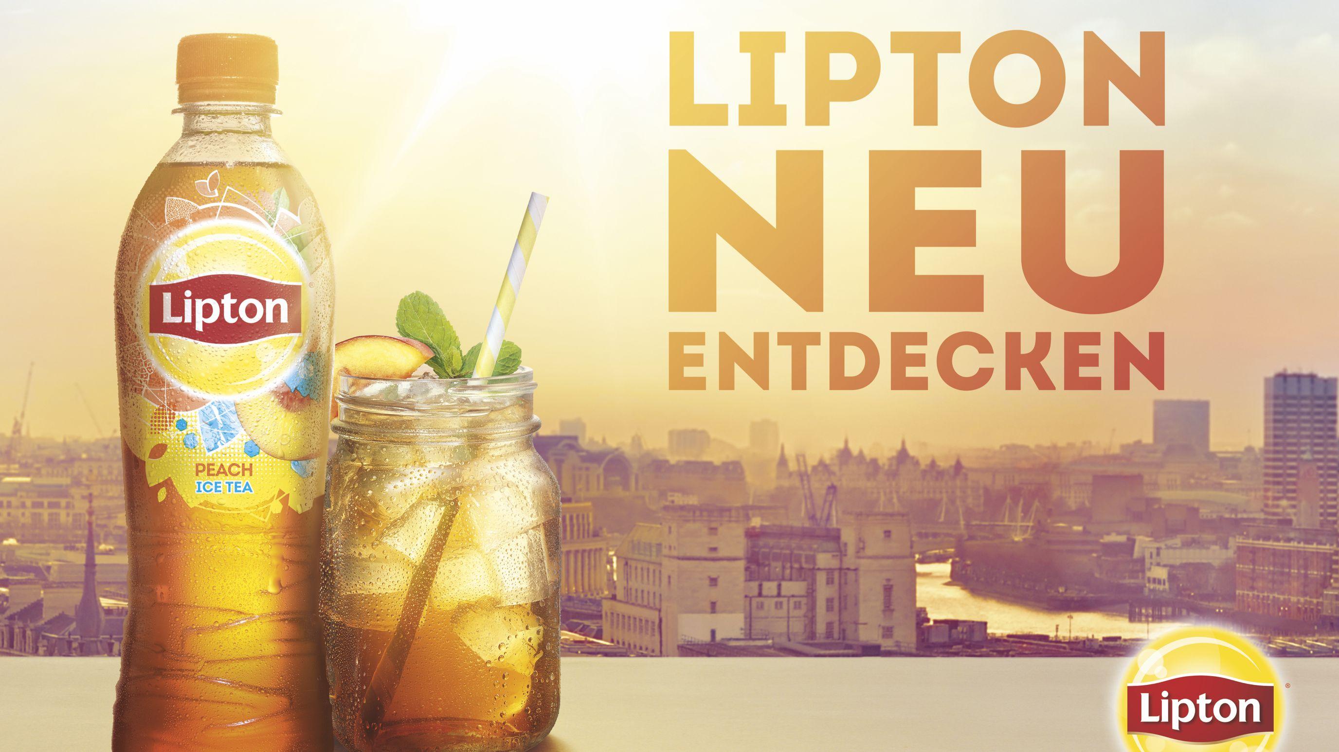 Relaunch: Pepsico Verhilft Lipton Ice Tea Zu Größter Markenkampagne Der Geschichte photo
