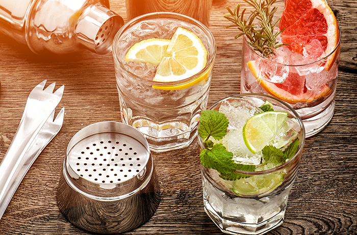 A Gin and Tonic a day keeps the allergies at bay! photo