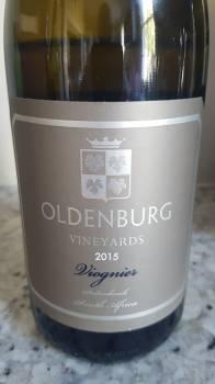 Oldenburg Vineyards Viognier 2015 photo