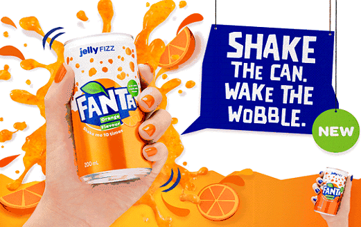 Fanta Refreshes Brand After Eight Years, Launches New Range With Liquid Jelly photo
