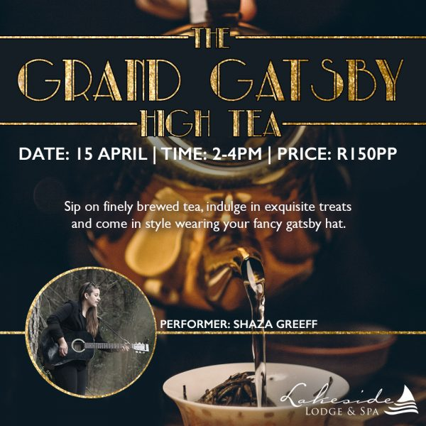 The Grand Gatsby High Tea at Lakeside Lodge and Spa photo