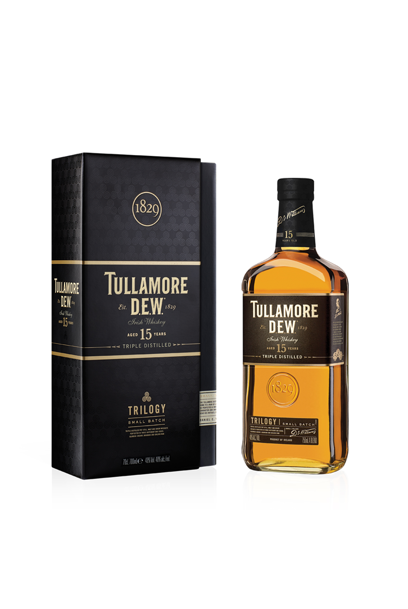 Tullamore D.E.W Whiskey – It's Three Times Better photo
