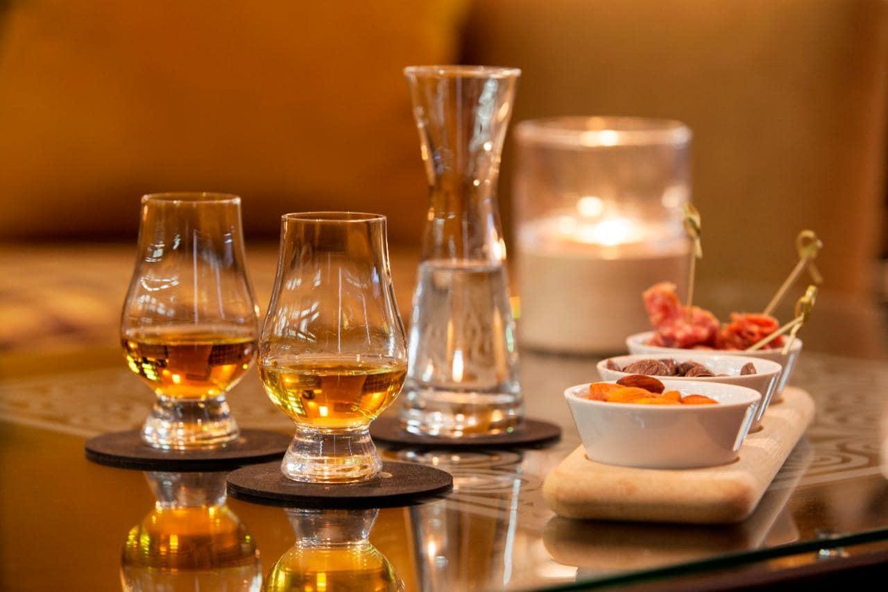 Whisky Tasting Lessons At The Balmoral Hotel In Edinburgh photo