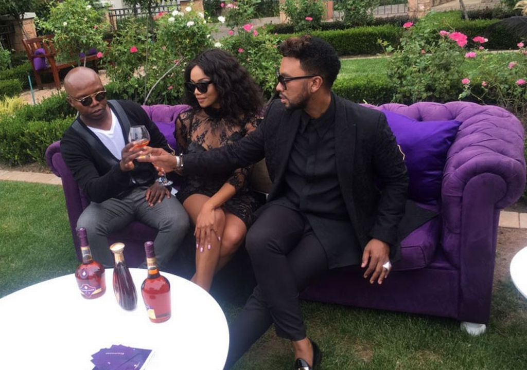 Bonang Matheba And David Tlale Join Tbo Touch As Ambassadors Of French Cognac Brand photo