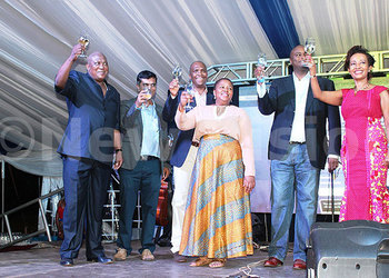 South African Wine Festival Charms Kampala photo