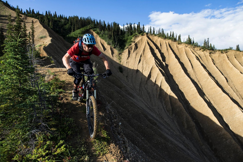 Ride Along This Alaskan Backcountry Ridgeline photo