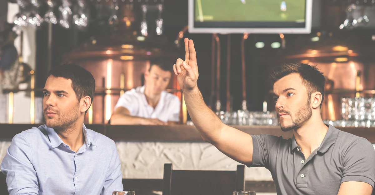 Ask Adam: Can I Go To The Bar To Order A Drink If The Cocktail Waitress Is Ignoring Me? photo
