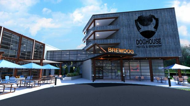 BrewDog is opening a Beer Hotel with booze-filled hot tubs and shower beer fridges photo