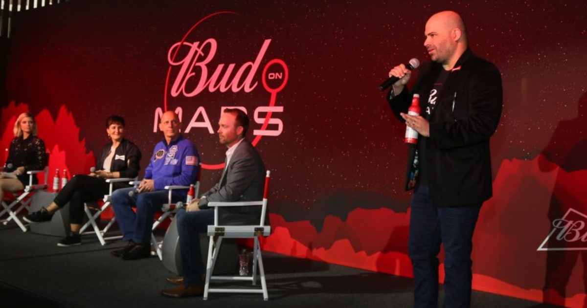Budweiser Announces Plans To Brew Beer On Mars photo