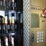 The Mandarin Oriental Hotel is home to the first Champagne vending machine in Las Vegas photo