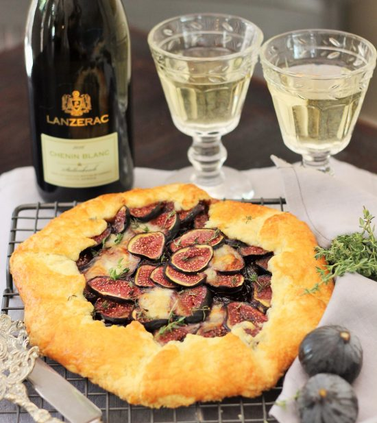 Fig and Red Onion Galette photo