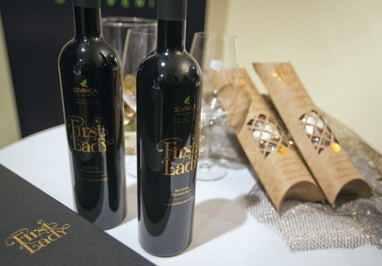 first lady wine e1489478382167 Melania Trump honoured with First Lady wine in Slovenia