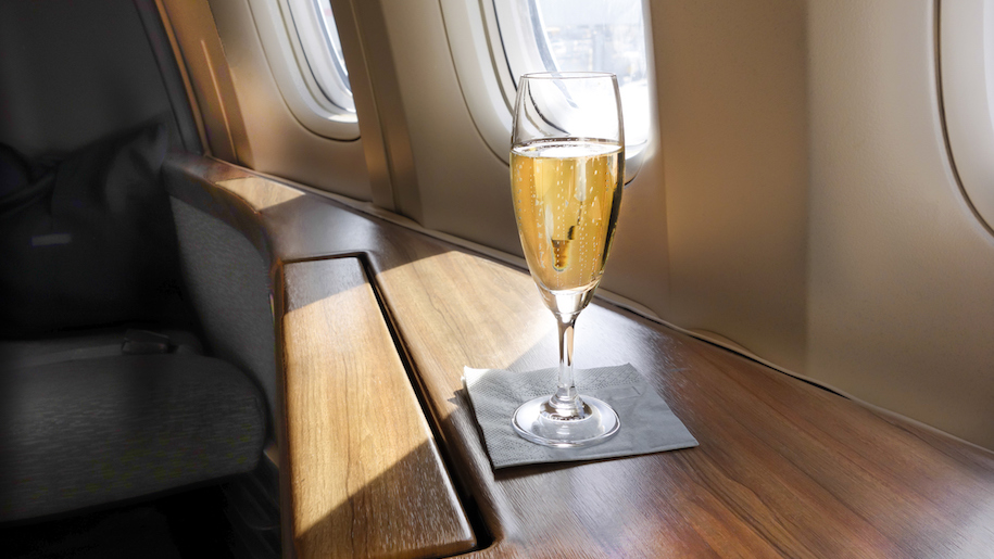 British Airways Introduces English Sparkling Wine To First Class Menu photo