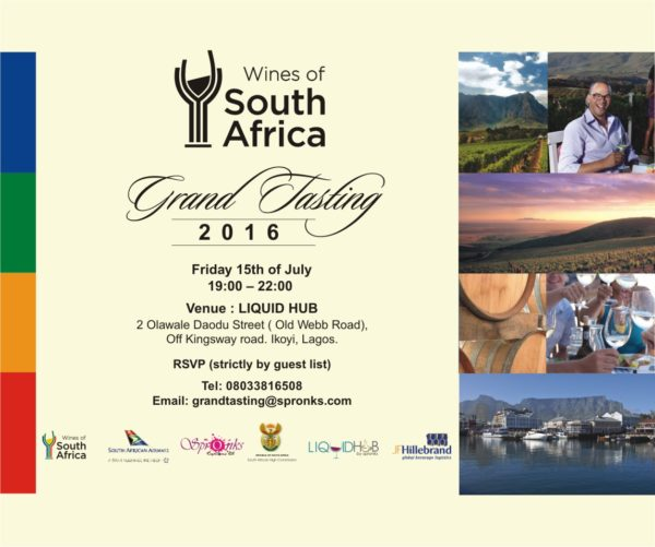 Wines Of South Africa Hosts 4th Edition Of Grand Tasting In Lagos photo