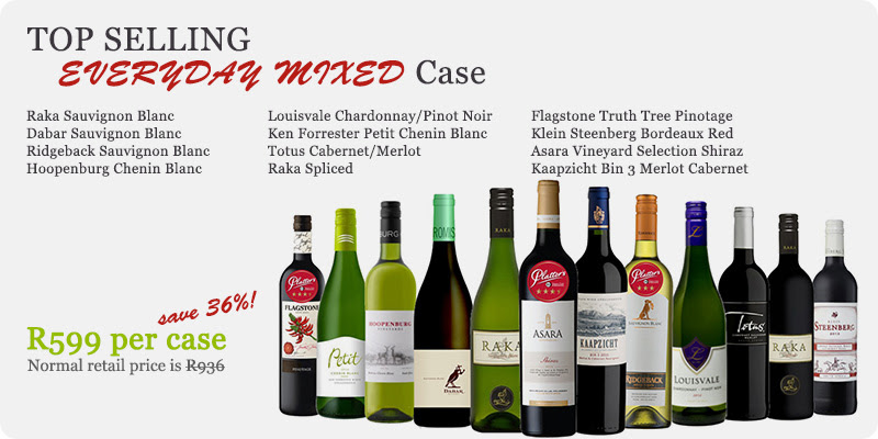 Top Selling Wines in Mixed Cases photo