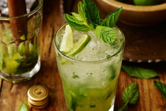 mojito e1488440334781 The most popular drinks at Casinos
