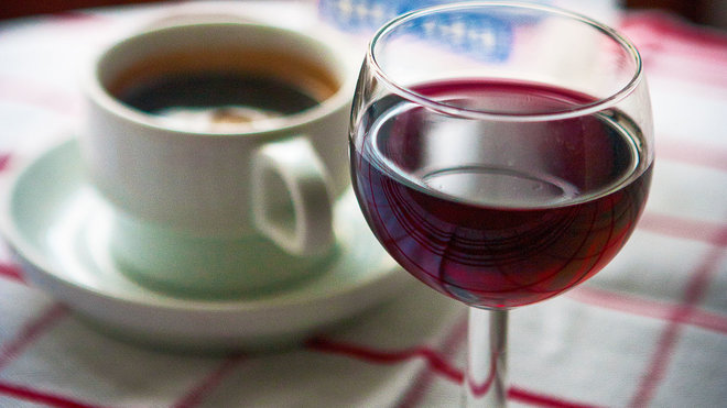Wine Coffee Is Perfect for Those Who Need Energy to Relax photo