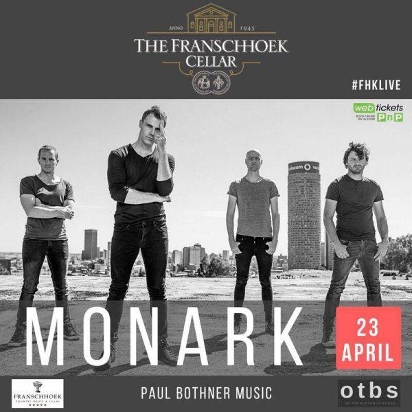 Monark Live at The Franschhoek Cellar photo