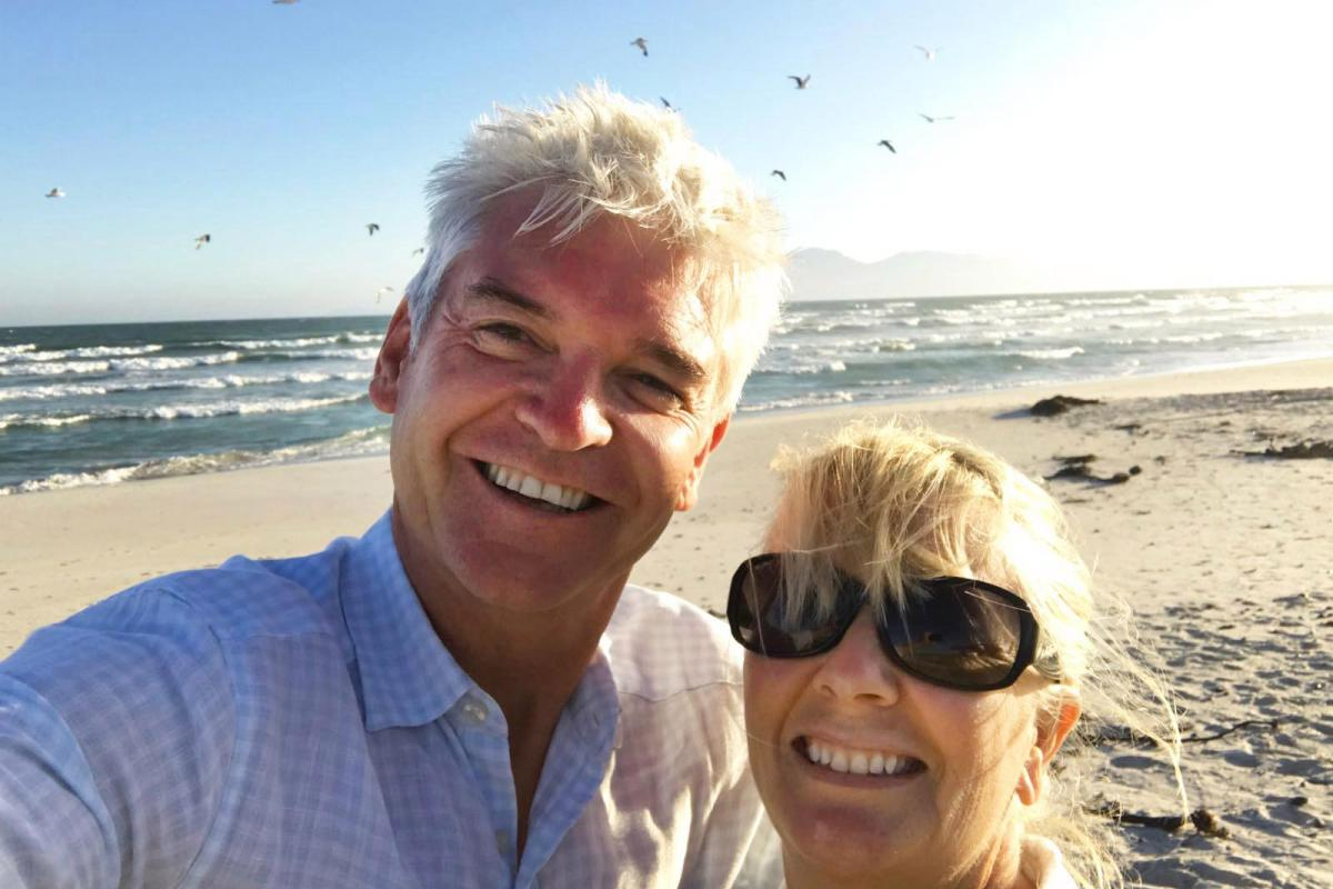 Phillip Schofield Takes Trip Of A Lifetime To South Africa With Wife Stephanie For Itv photo