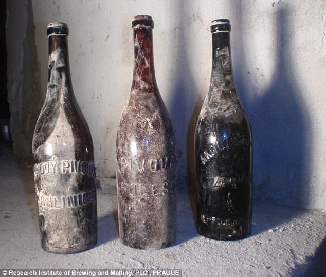 100 Year old beer discovered in the Czech Republic photo