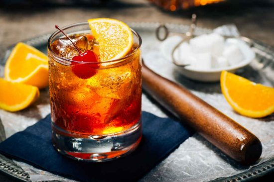 old fashioned e1488439897899 Home Entertaining Festive Season Pairings with Angostura aromatic bitters