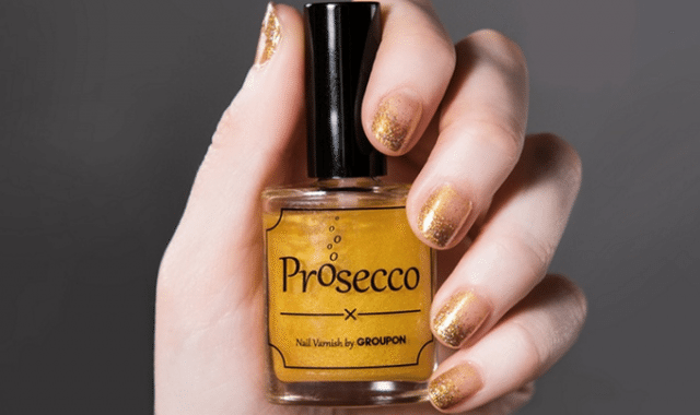 Not Sure If Prosecco Flavored Nail Polish Is Cool Or Weird… photo
