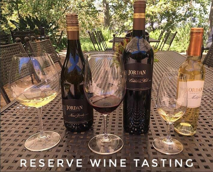 Jordan Introduces New Reserve Wine Tasting photo