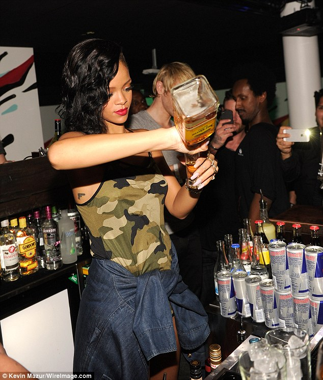 Rihanna Needs Tequila to Watch Herself on Bates Motel photo