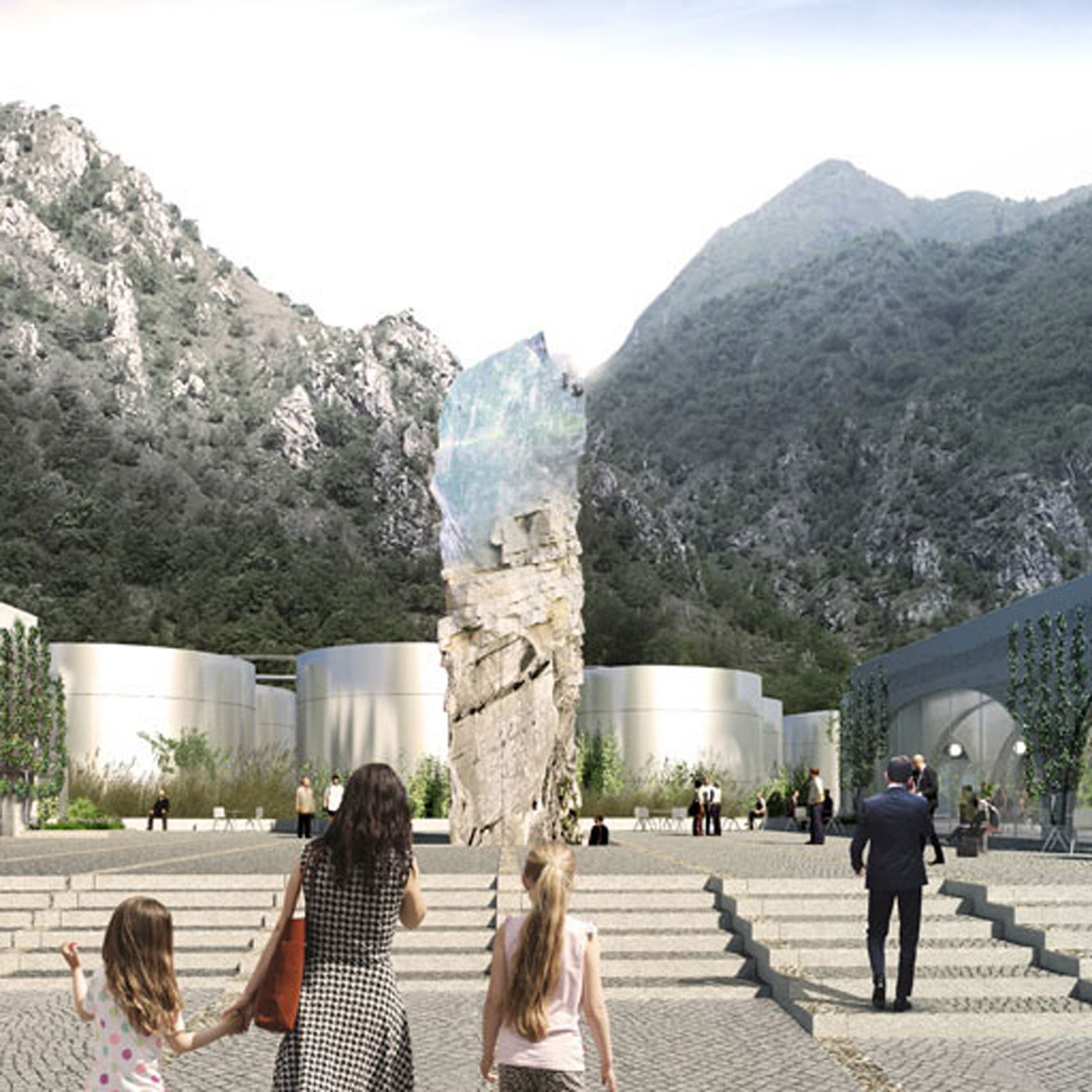 Big Wins Contest For San Pellegrino Bottling Factory In Italy photo