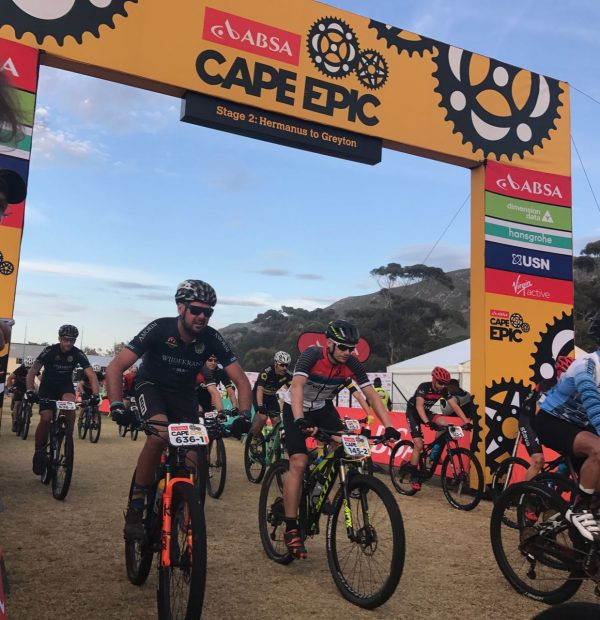 Cape Epic Stage Two, and it's all About Teamwork photo
