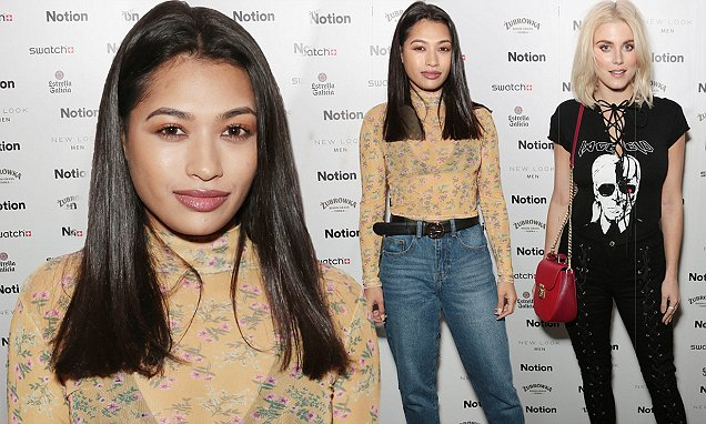 Vanessa White And Ashley James Are Casually-chic At Notion Bash photo