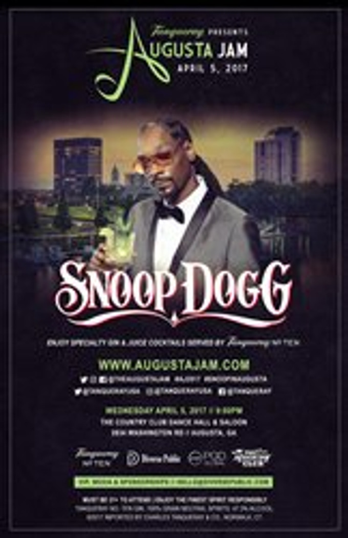 Tanqueray No. Ten Presents Augusta Jam Ft. Entertainment Icon Snoop Dogg To Celebrate Golf And Music photo