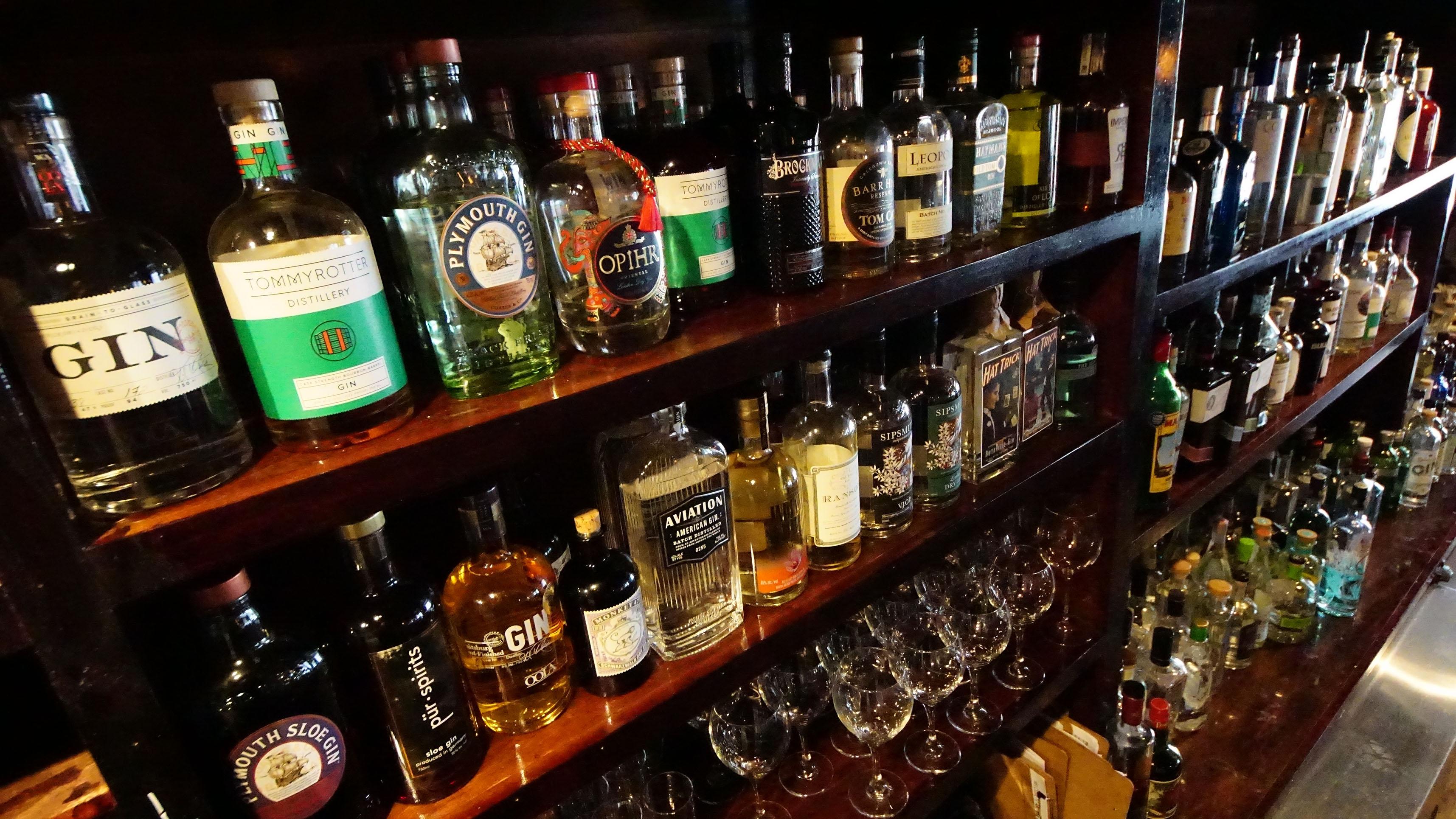 The 'gintoneria' At Aro Bar De Tapas Celebrates Gin Tonics photo