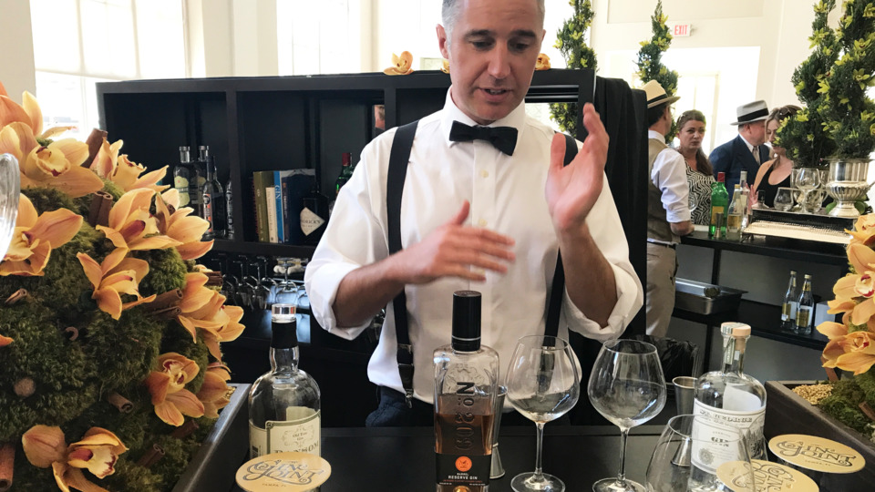The Matrix: First Taste Of Cw's Gin Joint Offered On International G&t Day photo