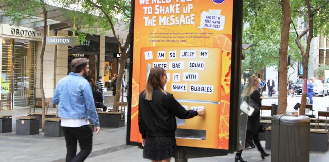 Fanta Distributes Free Jelly Fizz As Reward For Playing With The Brand's Marketing Message photo