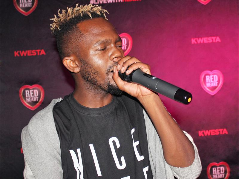 Kwesta Handpicked To Join The Red Heart Rum Crew Along With Other Top South Africans photo