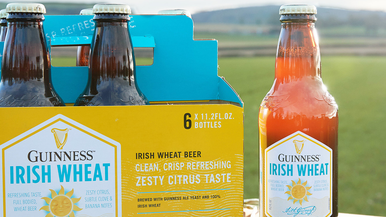 Guinness Irish Wheat Is Light And Crisp, But Is It Truly Memorable? photo
