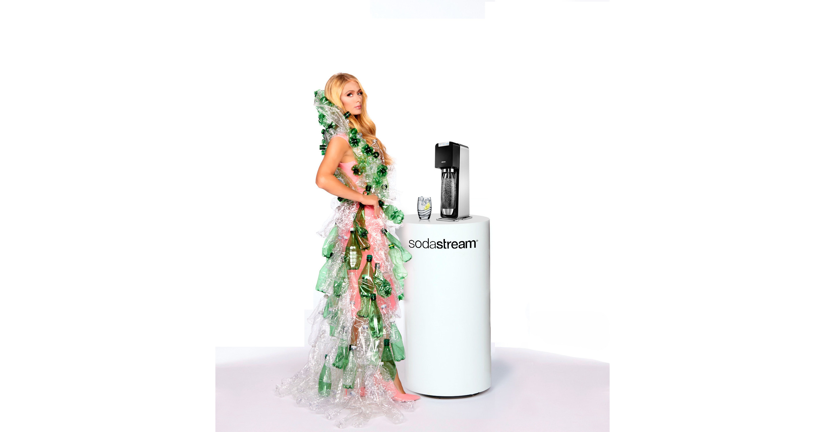 Sodastream Reveals April Fools' Day Prank With Paris Hilton photo