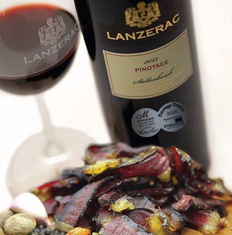 Pinotage diversity celebrated with Lanzerac menu photo