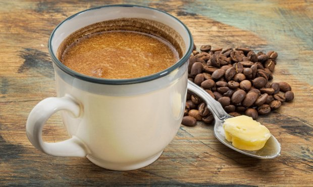 Get healthy fats first thing in the morning with a bulletproof coffee photo