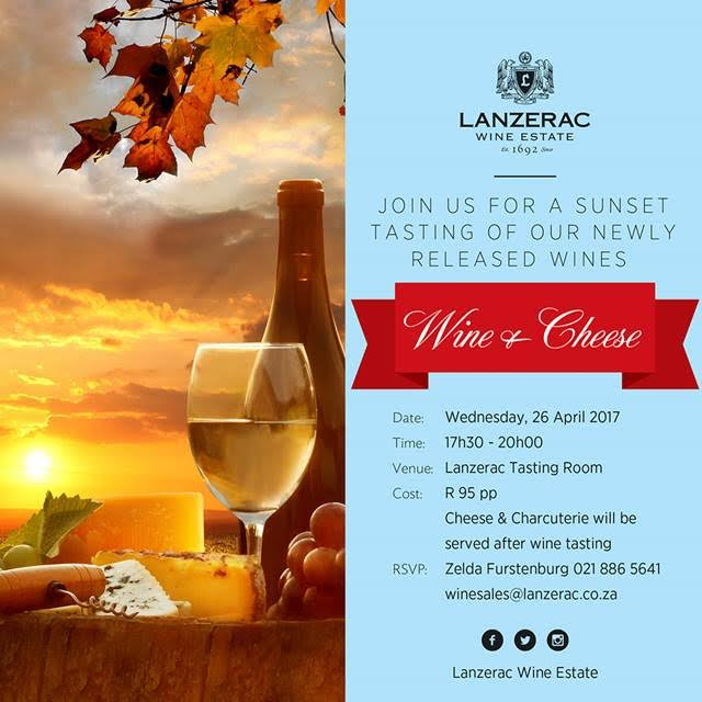 Wine and Cheese Sunsets at Lanzerac photo