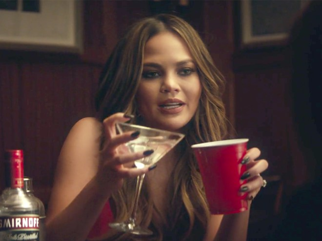Get The First Look At Chrissy Teigen's New Smirnoff Commercial — Featuring Her Mom! photo