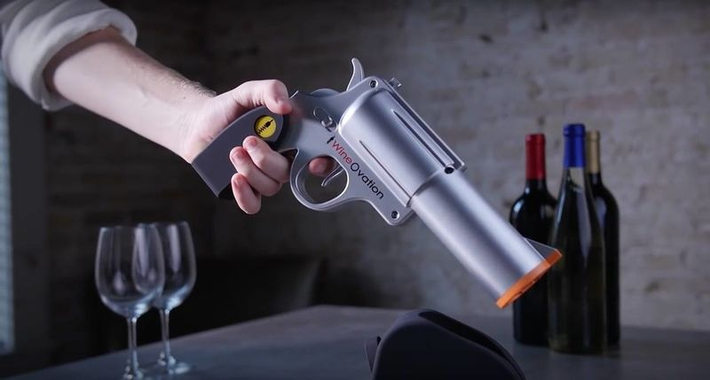 This Wine Gun Bottle Opener photo