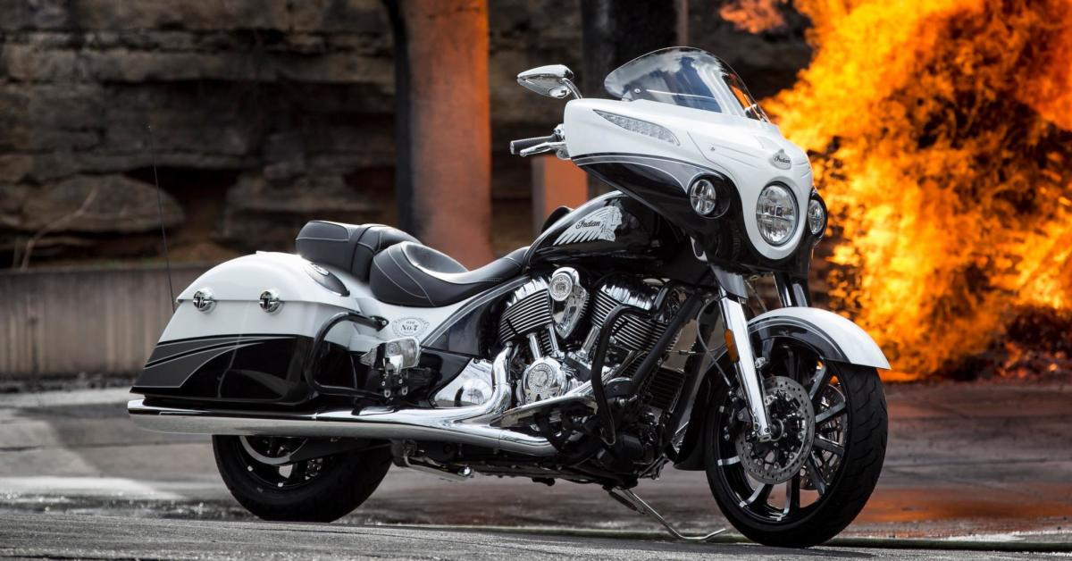 Drink In The Beauty Of This Limited Edition Jack Daniel's Indian Touring Bike photo