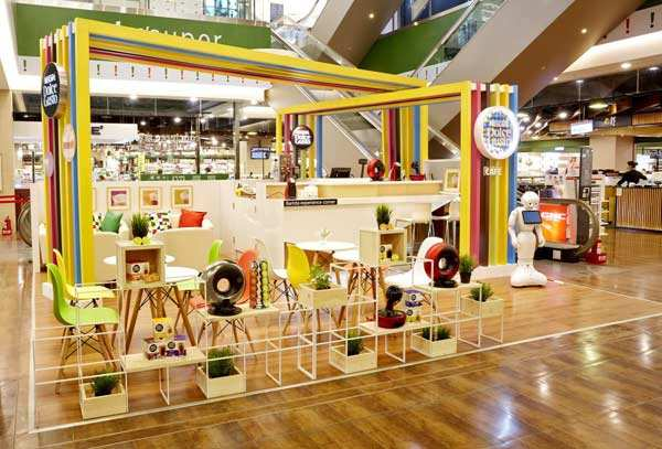 nescafe dolce gusto opens concept store in hsinchu nescafe. Black Bedroom Furniture Sets. Home Design Ideas