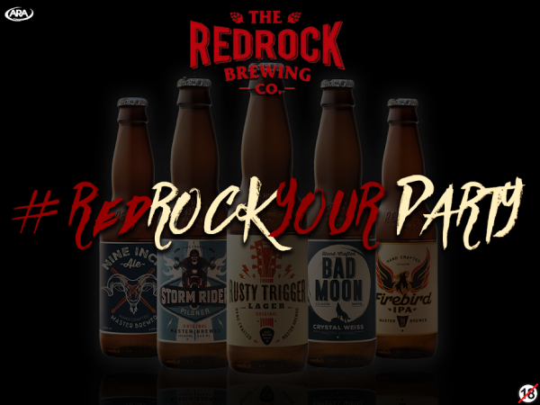 #RedRockYourParty and you could win 1 of 5 beer prizes per week! photo