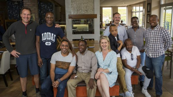 Eight Top South African Sommeliers visit Creation Wines photo