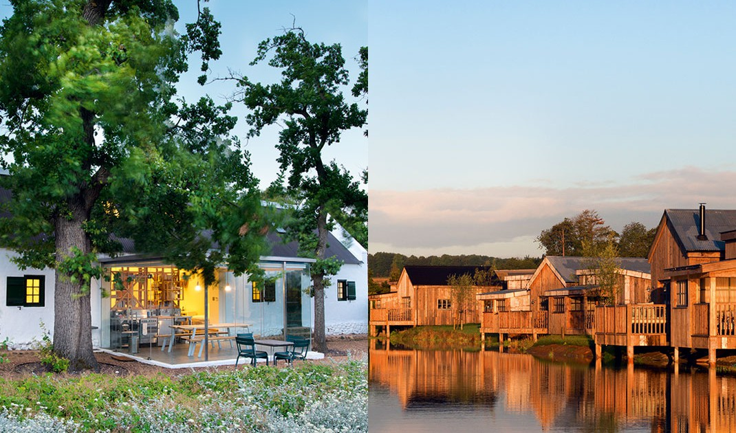 Le Match Des Farm-hôtels De Luxe : Babylonstoren Ou Soho Farmhouse ? photo
