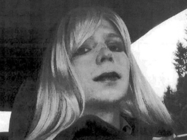 Chelsea Manning Celebrating Freedom With Pizza, Dom Perignon photo