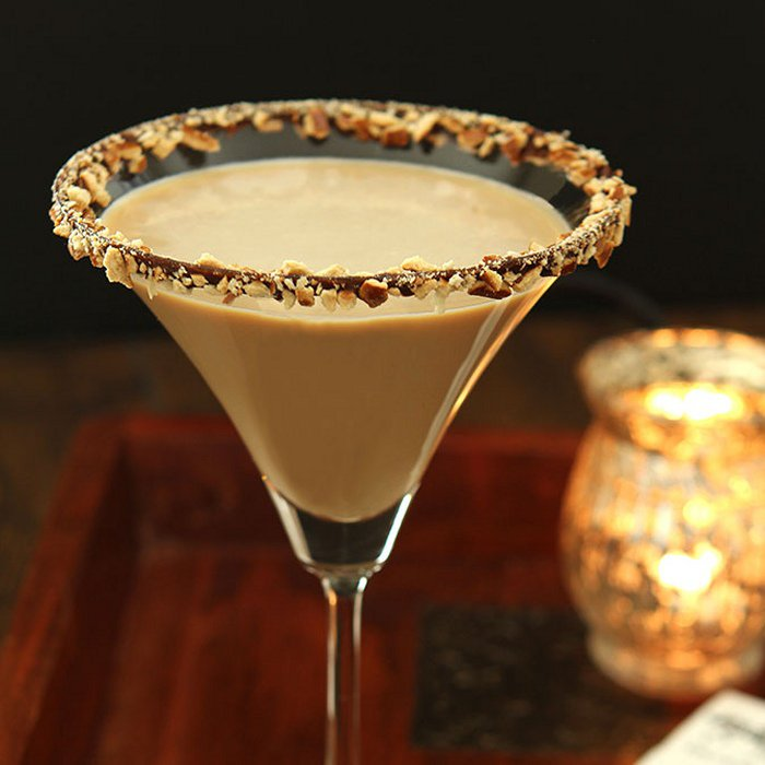 Salted Toffee Martini Cocktail photo